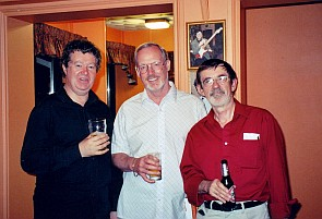Rob Bradford, Les Woosey & Malcolm Campbell